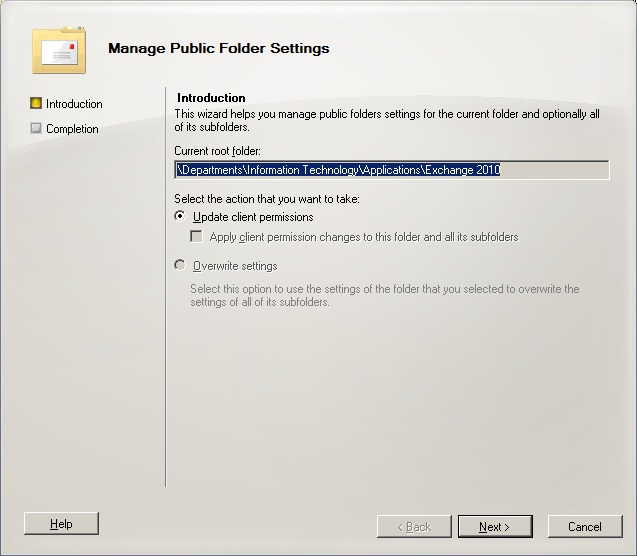 Exchange 2010 Public Folders: Part 1