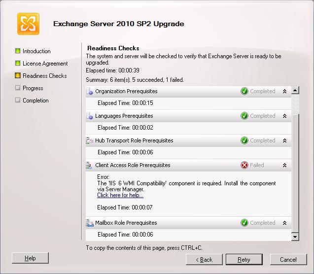 Installing Exchange 2010 SP2 | Thoughtsofanidlemind's Blog