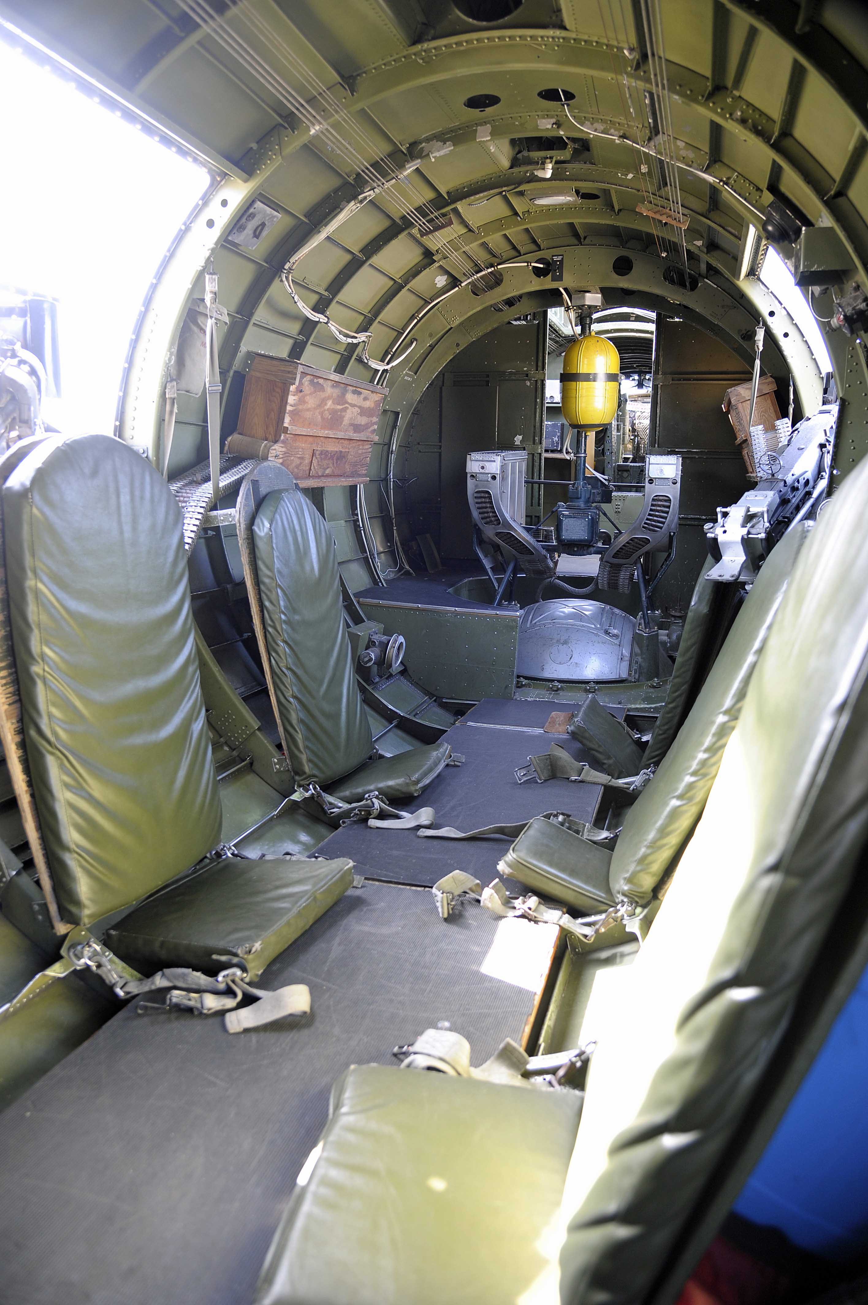 Rear Cabin Of The B 17 ...