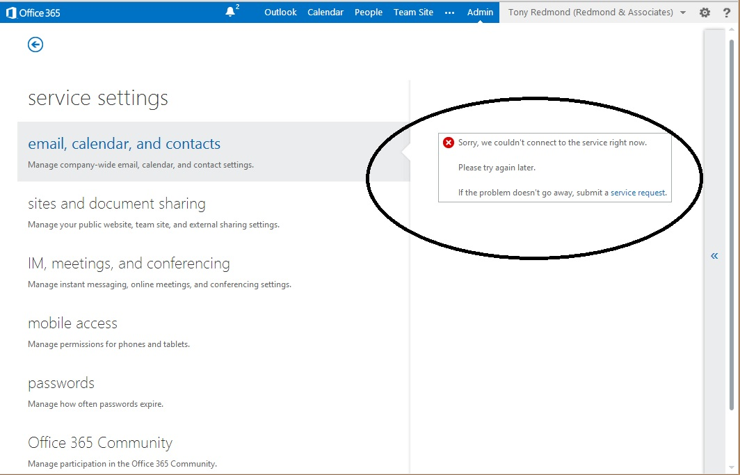 Upgrading Office 365 to Wave 15: My support experience to