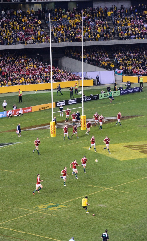 Australia's winning conversion