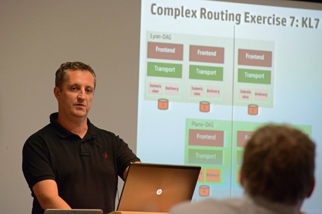 Thomas Strasser looks amazed when asked to explain how Exchange 2013 transport works