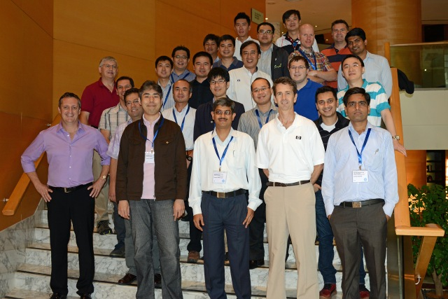 Smiling group of attendees at Exchange 2013 training in KL