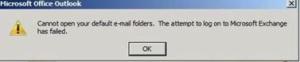 OutlookProblem