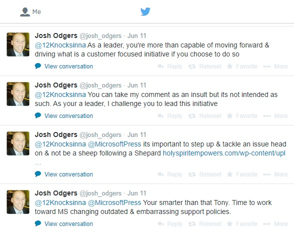 Some comments from a Nutanix employee on my Twitter feed