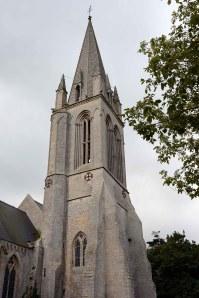 Vierville-sur-Mer church tower