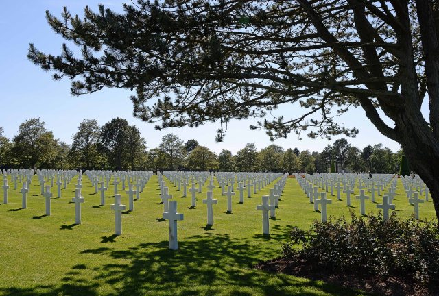 American Military Cemetery, Colleville-sur-Mer
