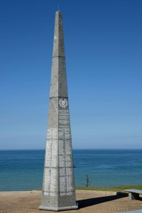 Memorial to the U.S. 1st Division at Omaha Beach
