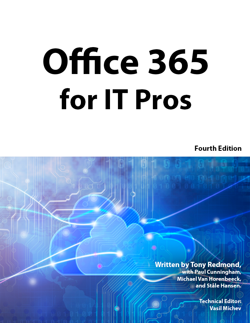 Office 365 for IT Pros 4th Edition – Change Log