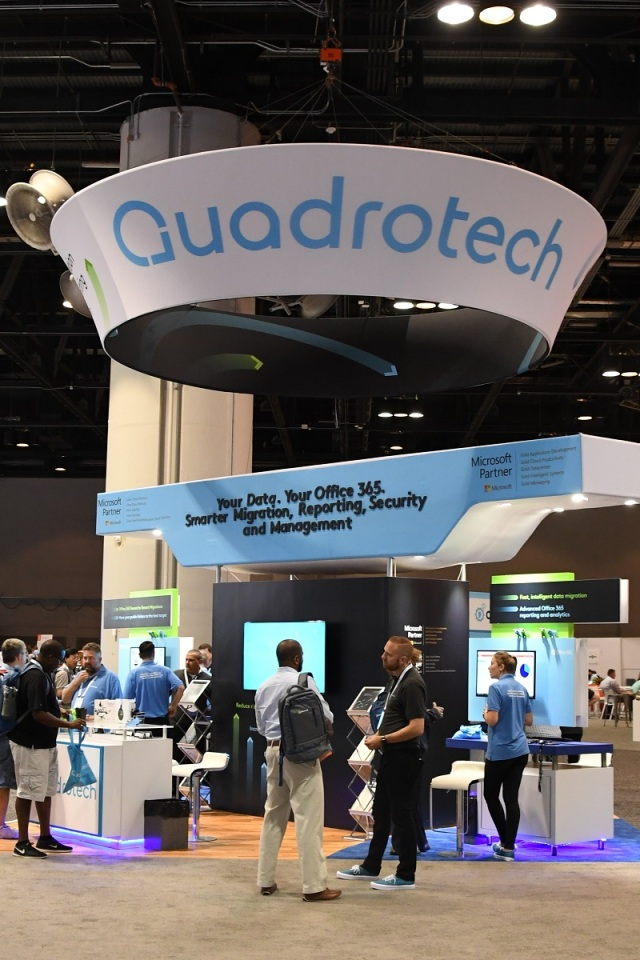 Quadrotech booth Ignite 2017