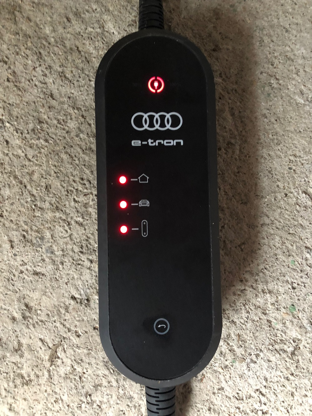 Audi e-tron car charger